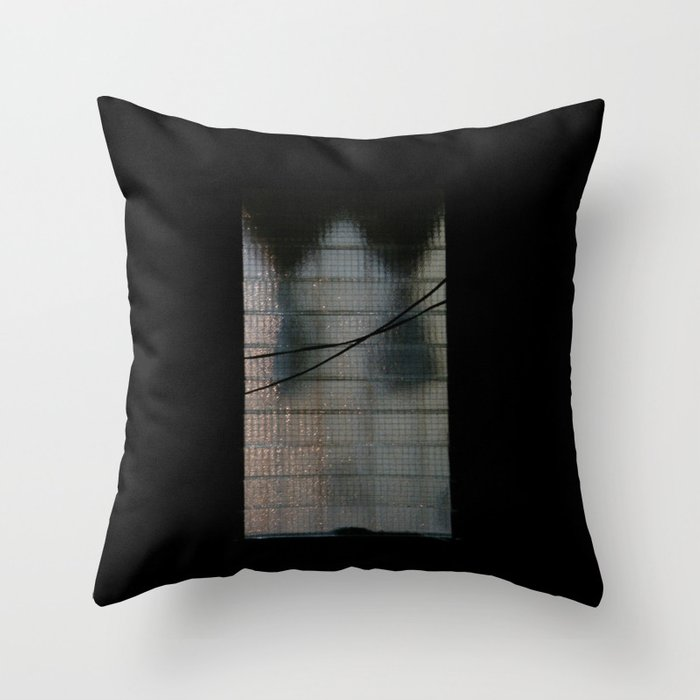 Light on the way home Throw Pillow
