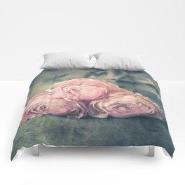 Lovely Ranunculus Comforters