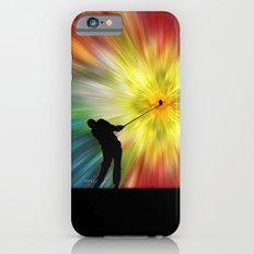 Tie Dye Silhouette Golfer Slim Case iPhone 6