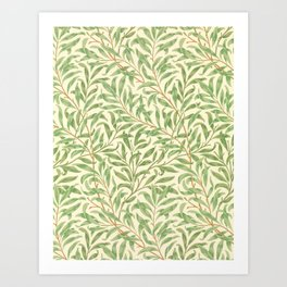 "William Morris ""Willow Bough"" Art Print"