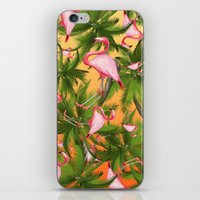 tropical iPhone & iPod Skins featuring tropical  by mark ashkenazi