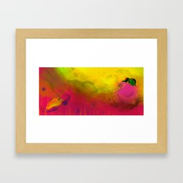 Trip to the antipodes Framed Art Print