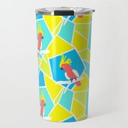 Bright Cockatoo Travel Mug