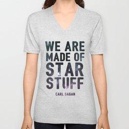 We Are Made of Star Stuff Unisex V-Neck