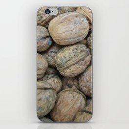 Autumn Walnuts iPhone Skin