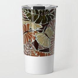 50's bongo leaf Travel Mug