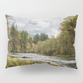 Fall on the McKenzie River Pillow Sham