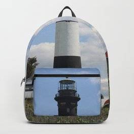 Walkway To Fire Island Lighthouse Backpack