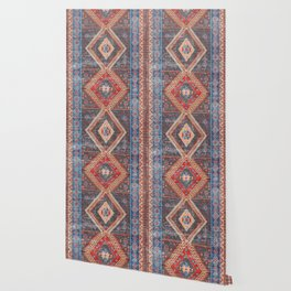 (N16) Boho Moroccan Oriental Artwork for Rustic and Farmhouse Styles. Wallpaper