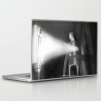silent hill Laptop & iPad Skins featuring James Sunderland from Silent Hill 2 by Peerro