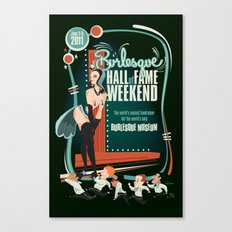 Burlesque Hall of Fame Weekend 2011 by Ragnar Canvas Print