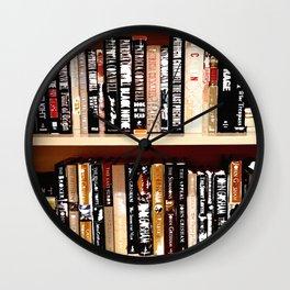 Books3 Wall Clock