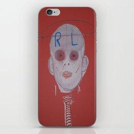 R & L iPhone Skin
