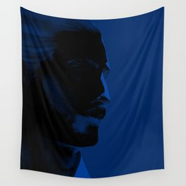 L'homme - midnight Wall Tapestry