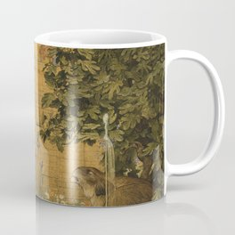 Beauty and the Beast, 1904 by John D Batten & Joseph E Southall - Reproduced from original under CC0 Coffee Mug