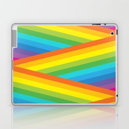 Rainbow Stripes Laptop & iPad Skin