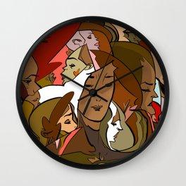 Melt love2 Wall Clock