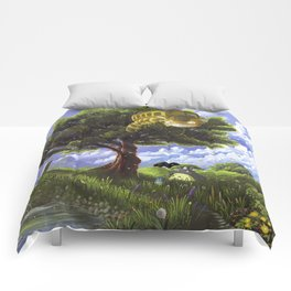 Totoro and Catbus Comforters