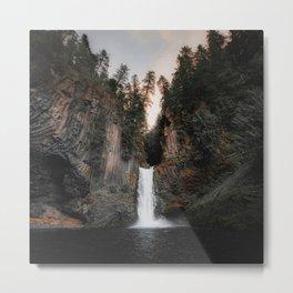 Toketee Falls in Oregon, USA Metal Print