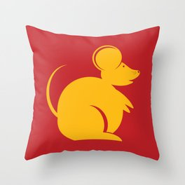 Year of the Rat. Chinese New Year 2020 Throw Pillow