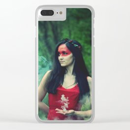 Mist maker Clear iPhone Case