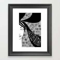 Peace Lies Within Framed Art Print