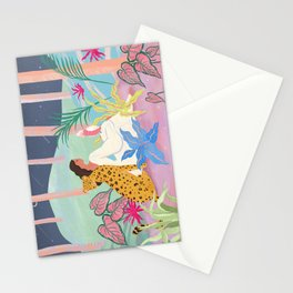 Better Together at Night  Stationery Cards