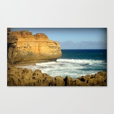 Hidden shelf Plates Canvas Print