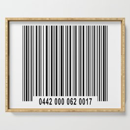 Barcode #1 Serving Tray