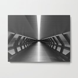 Space Tunnel Metal Print