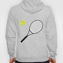 Tennis Racket And Ball 1 Hoody