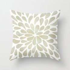 Petal Burst #3 Throw Pillow