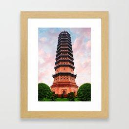 Beautiful Vietnam Pagoda Framed Art Print