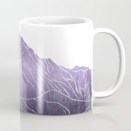 Colorado Mountain Ranges_Pikes Peak Coffee Mug