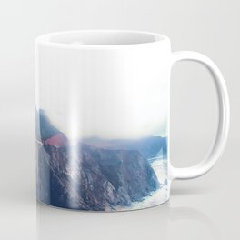 beautiful landscape at Bixby bridge, Big Sur, California, USA Coffee Mug