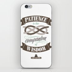 Patience iPhone & iPod Skin