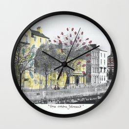 Eine Schoene Jahreszeit (Detail) Wall Clock
