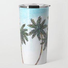 palms & sand Travel Mug