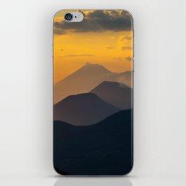 Sunset El Hoyo, Nicaragua iPhone Skin