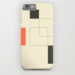 Geometric Abstract Art iPhone Case