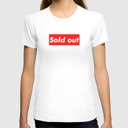 Supreme Sold Out T-shirt