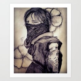 Nine Lives Remember Art Print