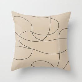 Abstract Shapes VI Throw Pillow