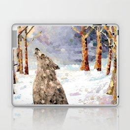 Wolf Serenade Laptop & iPad Skin