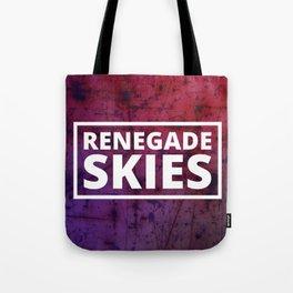 Renegade Skies logo BG 2 Tote Bag