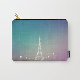 Paris Love In Color Carry-All Pouch