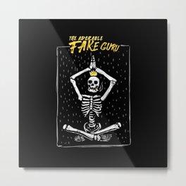 The Fake Guru Metal Print