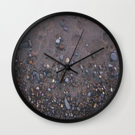lake erie rocks Wall Clock