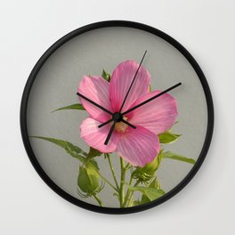PINK MARSH MALLOW Wall Clock