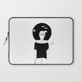 Space fishing port Laptop Sleeve